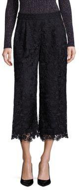 Diane von Furstenberg Holly Floral Lace Pants $428 thestylecure.com