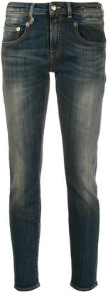 R 13 skinny boyfriend jeans