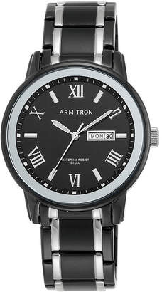 Armitron Mens Black Bracelet Watch