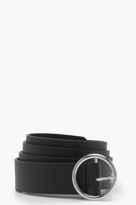 boohoo Circle Ring Boyfriend Belt