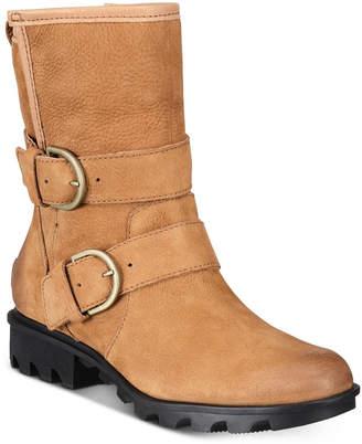 Sorel Women Phoenix Moto Shearling Boots Women Shoes