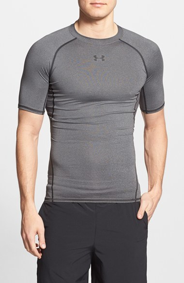 Men's Under Armour Heatgear Compression Fit T-Shirt