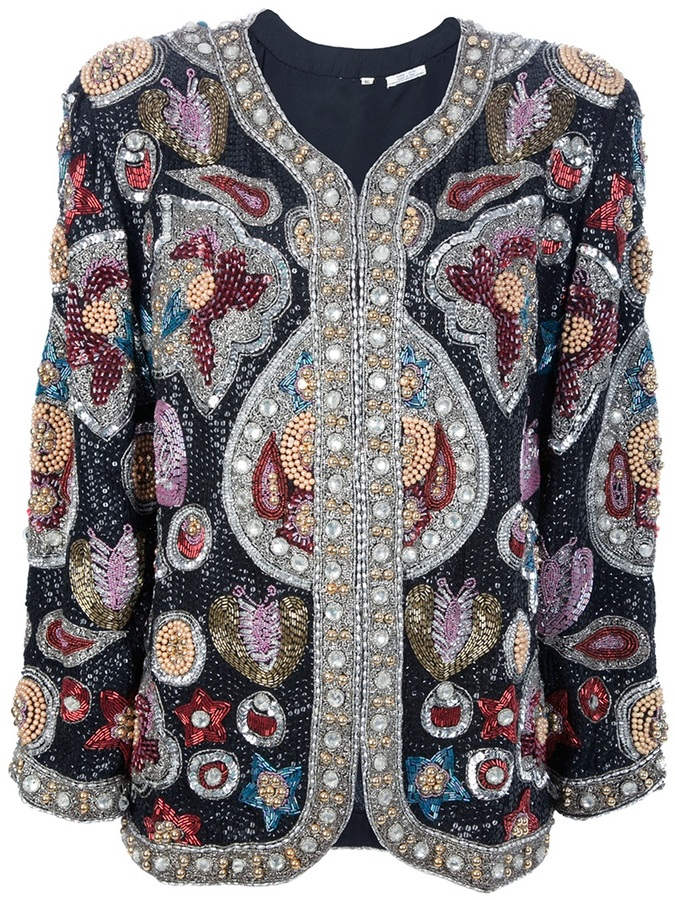 Sartoria Italiana Vintage bead embellished jacket