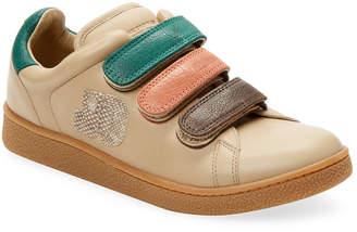 Jerome Dreyfuss Leather Griptape Run Sneaker