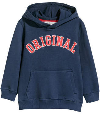 H&M Hooded Sweatshirt - Blue
