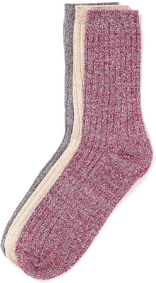 Topman Multi Coloured 3 Pack Socks