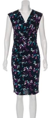 Robert Rodriguez Floral Knee-Length Dress
