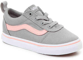 Vans Ward Infant & Toddler Slip-On Sneaker -Grey/Pink - Girl's