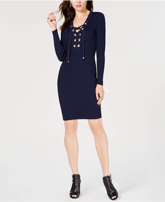 Michael Kors Grommet Sweater Dress