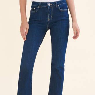 Maje 7/8-Length Stretch Cotton Jeans