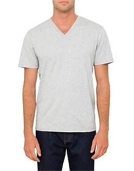 David Jones Basic Short Sleeve V Neck Top