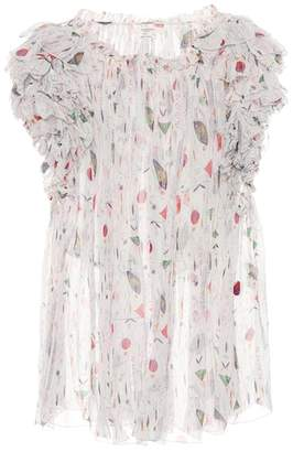 Etoile Isabel Marant Isabel Marant, Étoile Erell silk-chiffon blouse