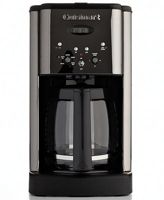 Cuisinart DCC-1200BCH Coffee Maker, Brew Central 12-Cup Programmable Black Chrome