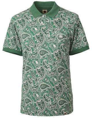 Pretty Green Paisley Print Polo Shirt
