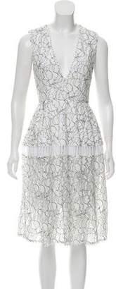 N. Nicholas Lace Sleeveless Dress w/ Tags