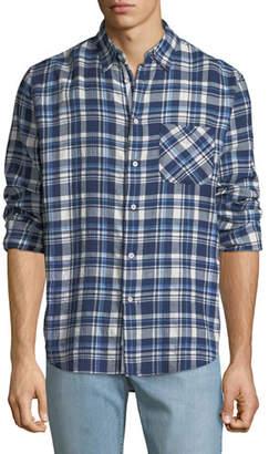 Rag & Bone Men's Fit 3 Plaid Beach Shirt