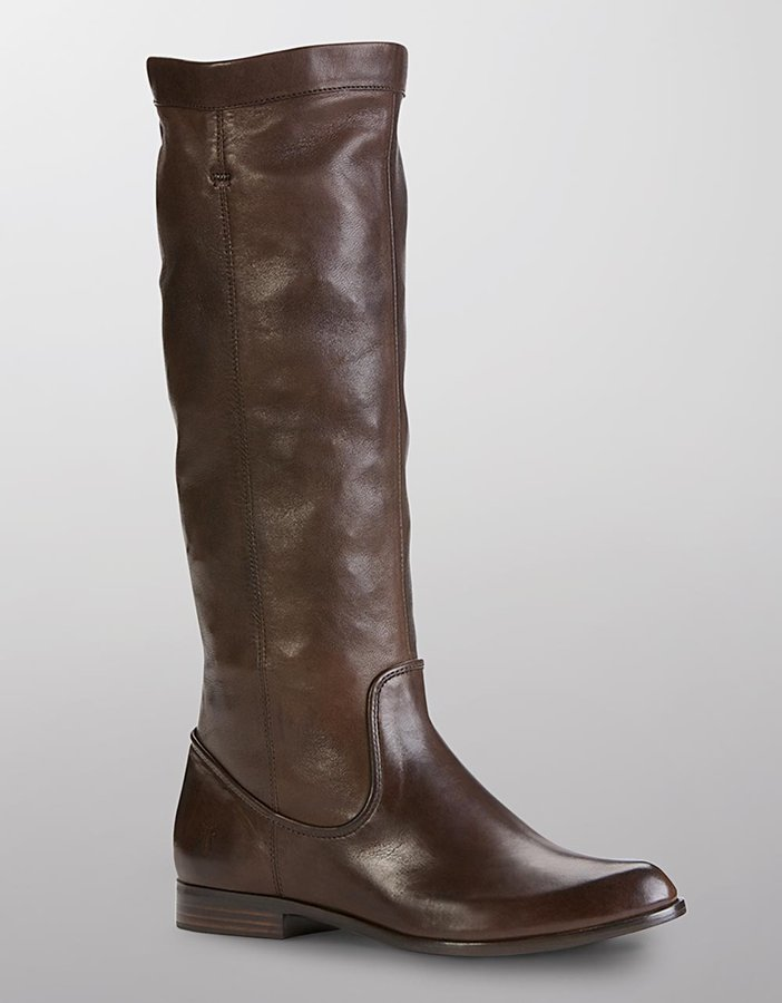 Frye Cindy Slouch Tall Leather Boots