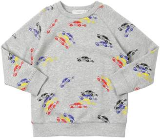 Stella McCartney Cars Print Cotton Sweatshirt