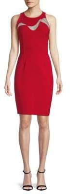 Elie Tahari Sleeveless Sheath Dress