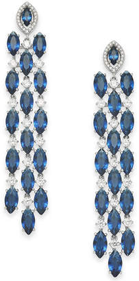 Danori Crystal & Stone Chandelier Earrings