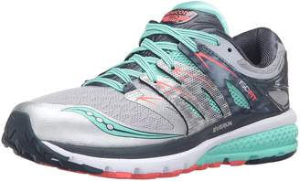 Saucony Women's Zealot ISO 2 Running Shoes, Teal/Citron