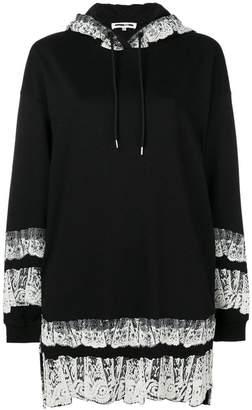 McQ printed trim hoodie