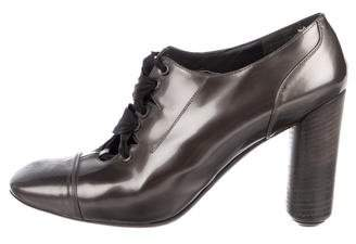 Marc Jacobs Metallic Patent Leather Booties
