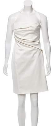 Versace Sheath Halter Dress