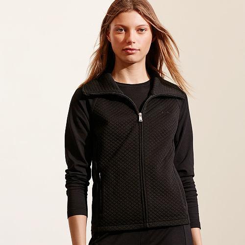 Ralph Lauren Quilted Stretch Cotton Jacket