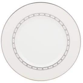 Kate Spade Platinum-Trimmed Bone China Plate