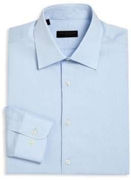 Ike Behar Regular-Fit Textured Dress Shirt