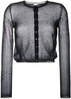 M Missoni sheer knitted cardigan