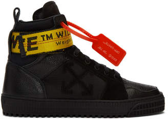 Off-White Off White Black Industrial High-Top Sneakers