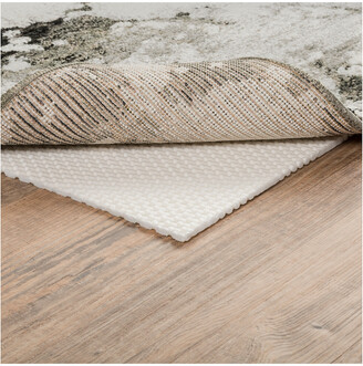 StyleHaven Plush Grip Machine-Made Pvc-Coated Polyester Rug Pad