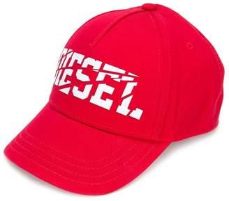 Diesel printed cap
