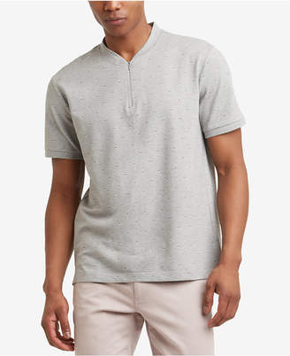 Kenneth Cole New York Kenneth Cole Men's Quarter Zip T-Shirt