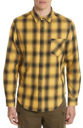 Ovadia & Sons Max Plaid Flannel Shirt