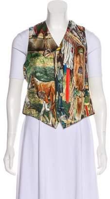 Hermes Les Cheyennes Button-Up Vest