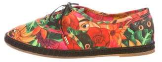 Charlotte Olympia Maria Canvas Sneakers