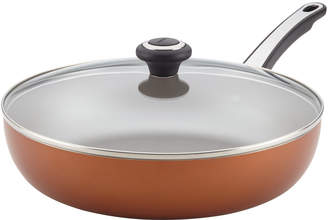 "Farberware 12"" High Performance Non-Stick Covered Deep Skillet"