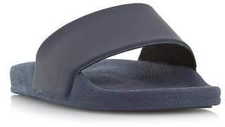 Dune Mens IBIZAA Smart Pool Slider Sandal in Navy
