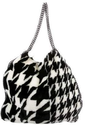Stella McCartney Faux-Fur Falabella Large Tote