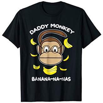 Funny Cute Daddy Monkey Banana For Mens