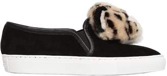 Katy Perry 20mm Lusella Tiger Suede Sneakers