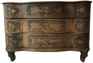 One Kings Lane Vintage 18th-C. Northern Italian Carved Chest - Heather Cook Antiques