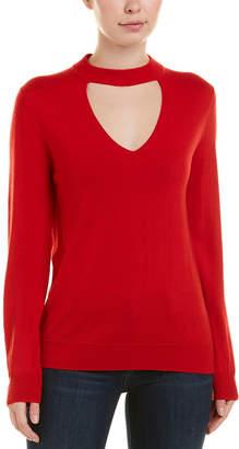 Trina Turk Cutout Wool Top