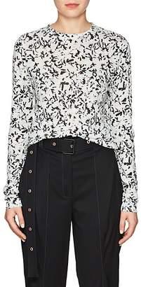 Proenza Schouler Women's Floral Cotton Jersey T-Shirt