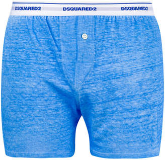 DSQUARED2 marl trunk boxers