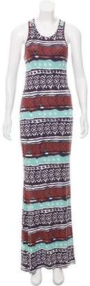 Torn By Ronny Kobo Printed Maxi Dress
