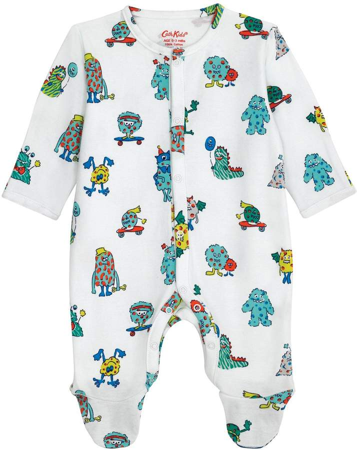 Baby Boys Printed Sleepsuit